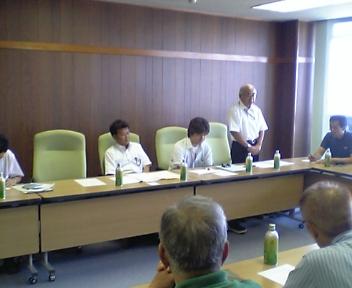 山形鮭川との検討会